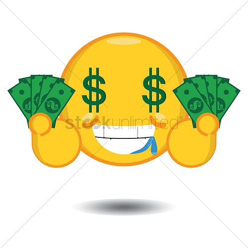 smiley-with-dollar-sign-eyes-holding-money_1283925