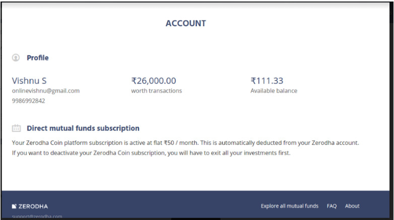How does coin subscription fees of Rs 50/month work? - Coin - Direct