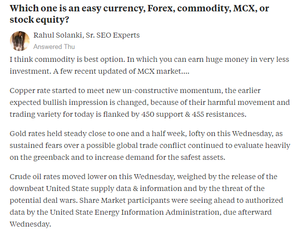 Https Www Quora Com Which One Is An Easy Currency Forex Commodity -