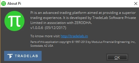 Is there a new update in Pi? - Zerodha platforms - Trading
